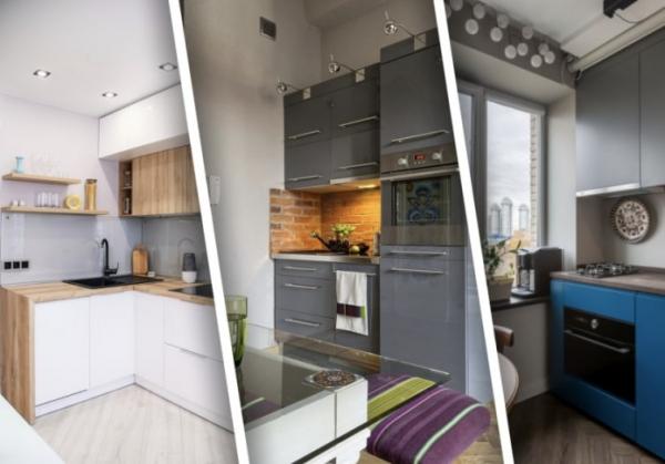 Как визуально увеличить маленькую кухню?