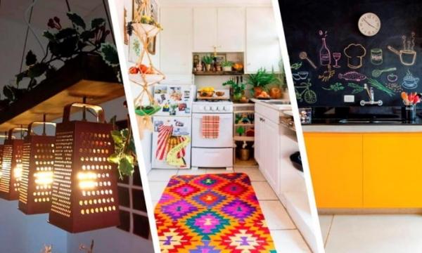 Как создать необычный дизайн кухни?